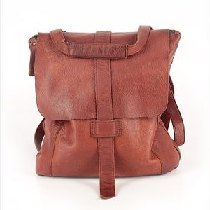 Duluth Trading Co. Lifetime Leather Messenger